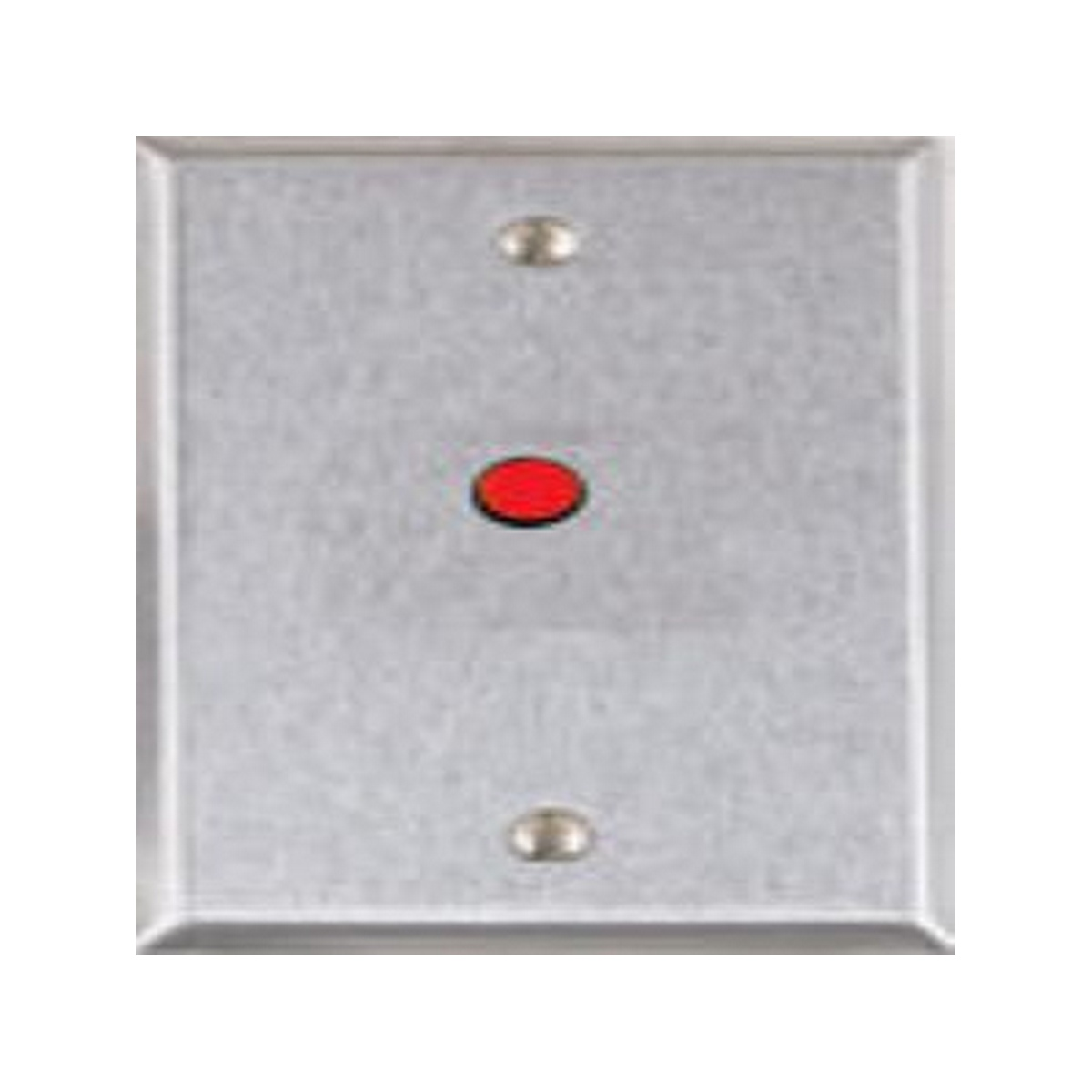 RP-28 Single gang stainless steel remote LED wall plate