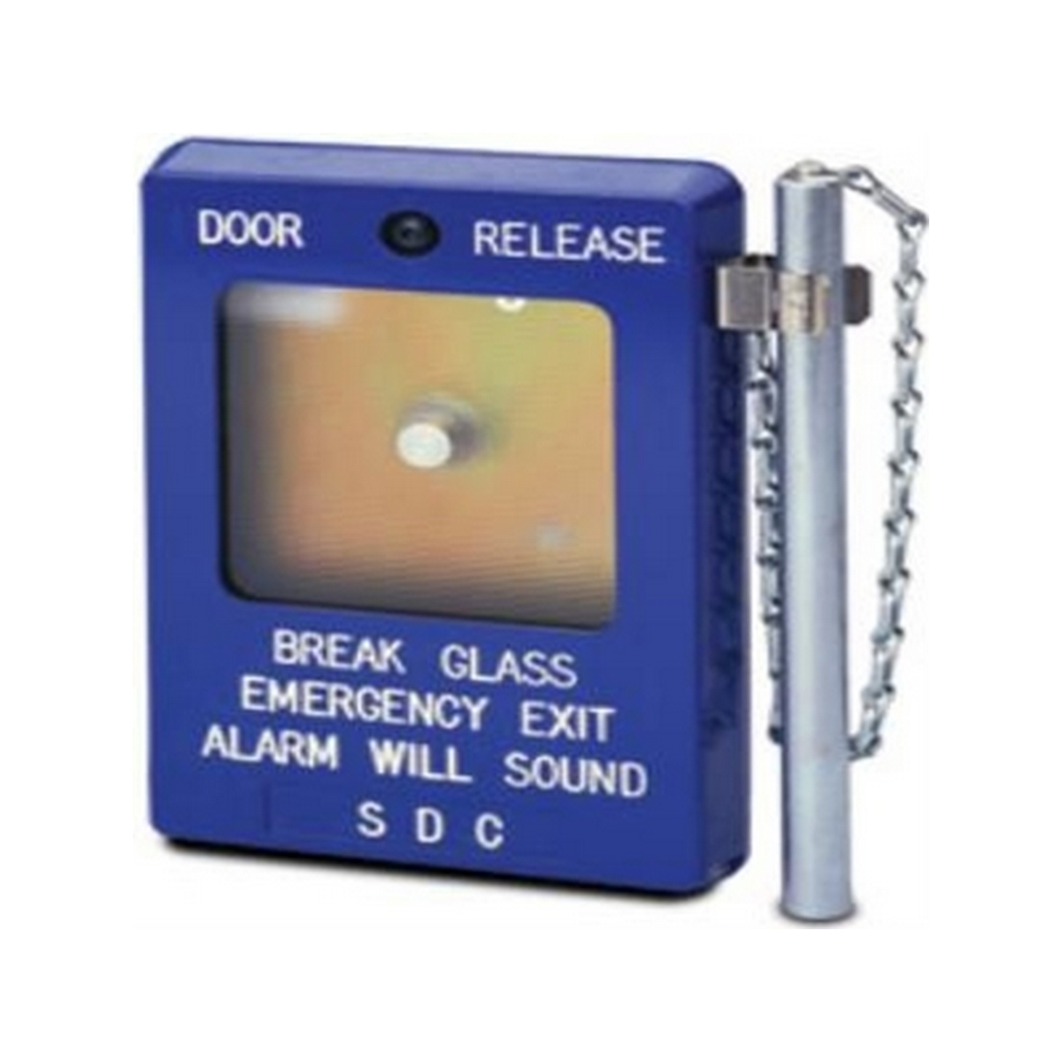 Door release surface mount box