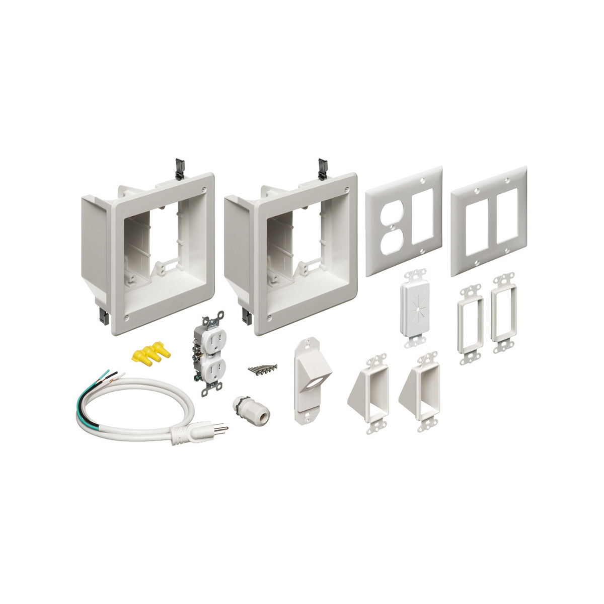 Arlington TVBR2505K 2 RECESSED TV BOX KIT