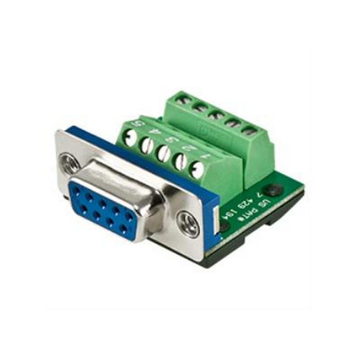 BTX CD-MX9F  BTX MaxBlox DB9 Female to Terminal Block Connector.
