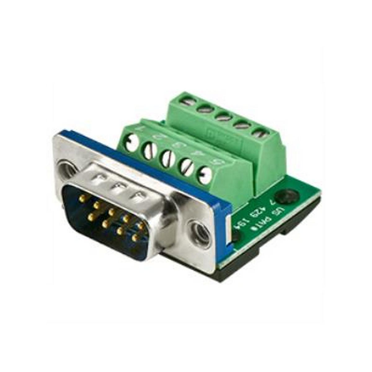 BTX  CD-MX9M BTX MaxBlox DB9 Male to Terminal Block Connector