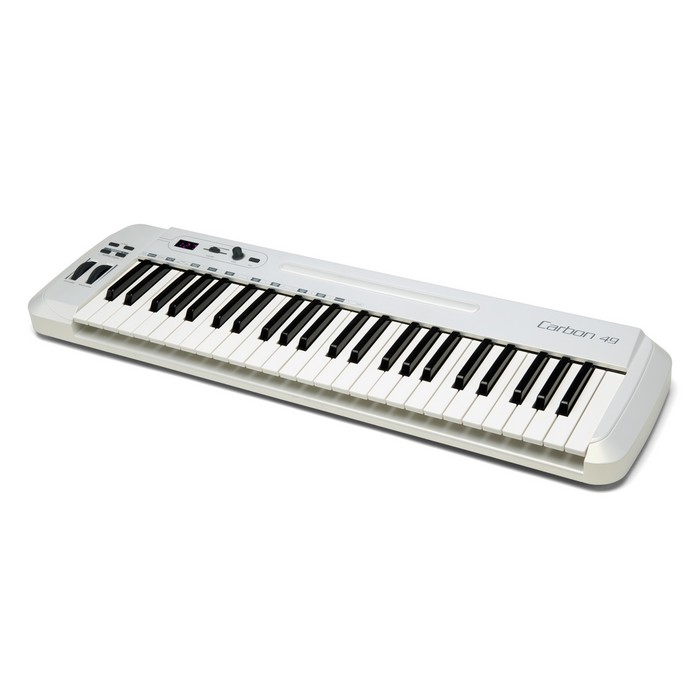Samson Carbon 49 49 key USB MIDI Keyboard Controller with NI Komplete Elements