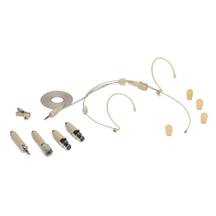Samson DE50 Headset Microphone with Micro-Miniature Condenser Capsule (Wrap around) (Beige)