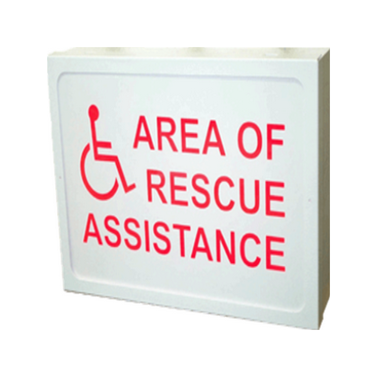Self Adhesive Area Of Rescue Sign
