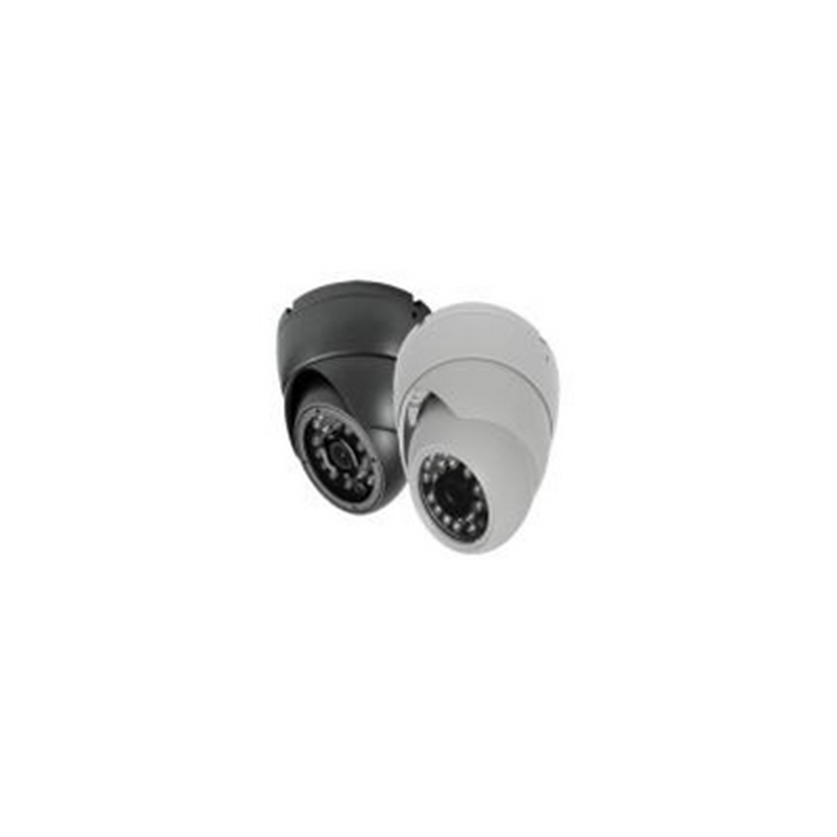 TVI HD 1080P Turret Camera, 3.6mm Lens, IR, White, 3 Way