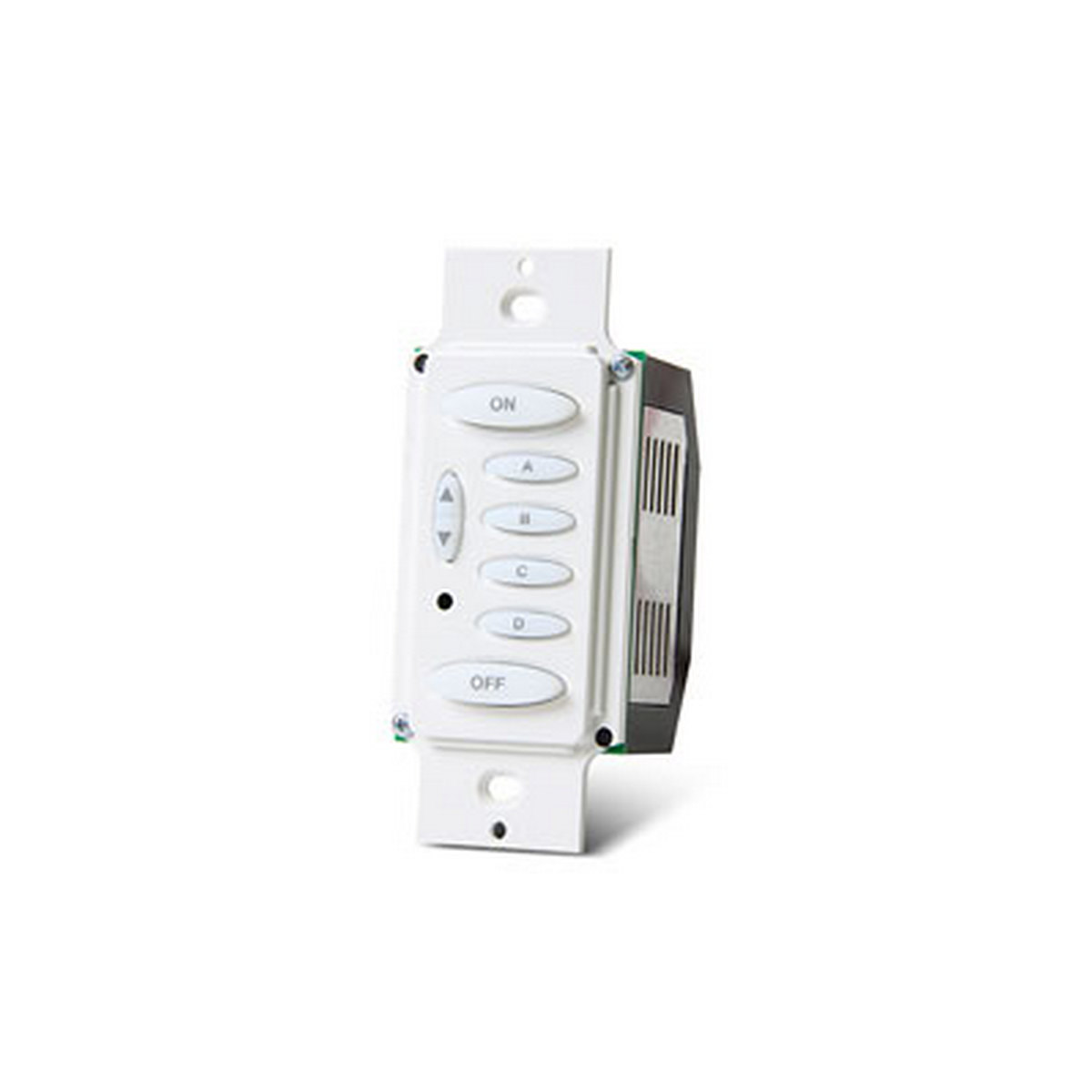 Keypad Controller, Load Dimmer, 400W Max, 6 Button