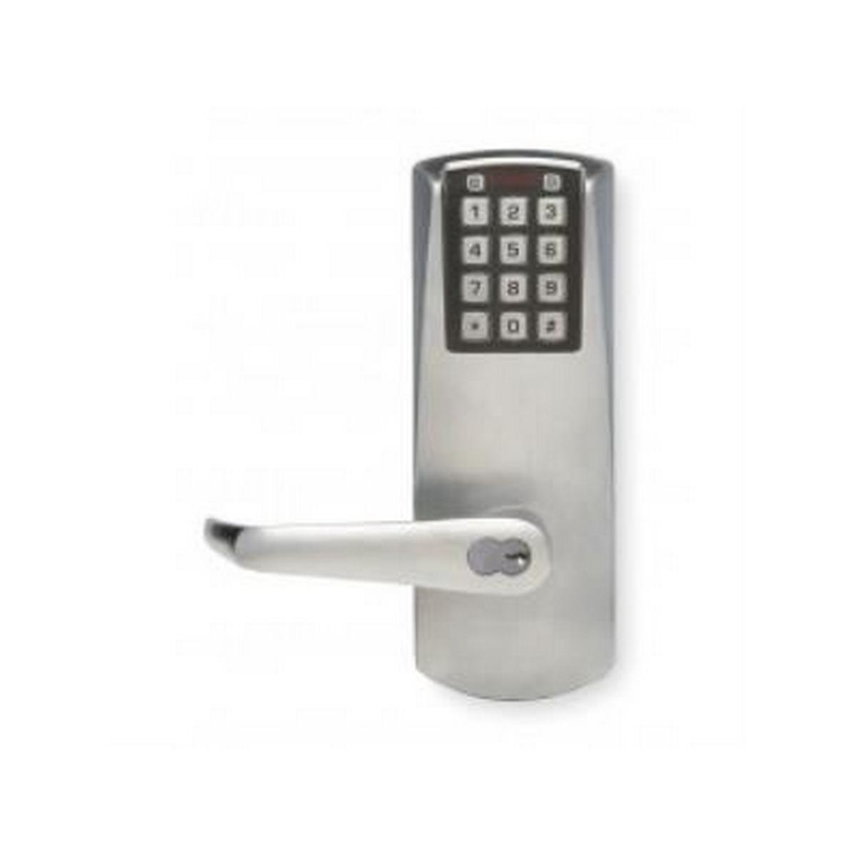 Kaba E2031BLL626  E-Plex Lever electronic push button lock cylindrical