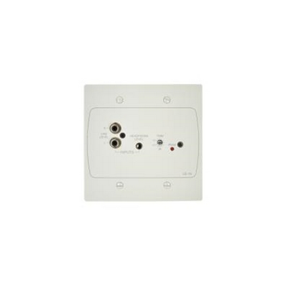 Cloud WhiteActiveInputPlatewith1StereoLineInput(Phonoand3.5mmJackSocket)forDCM1orDCM1e: USA Vers.
