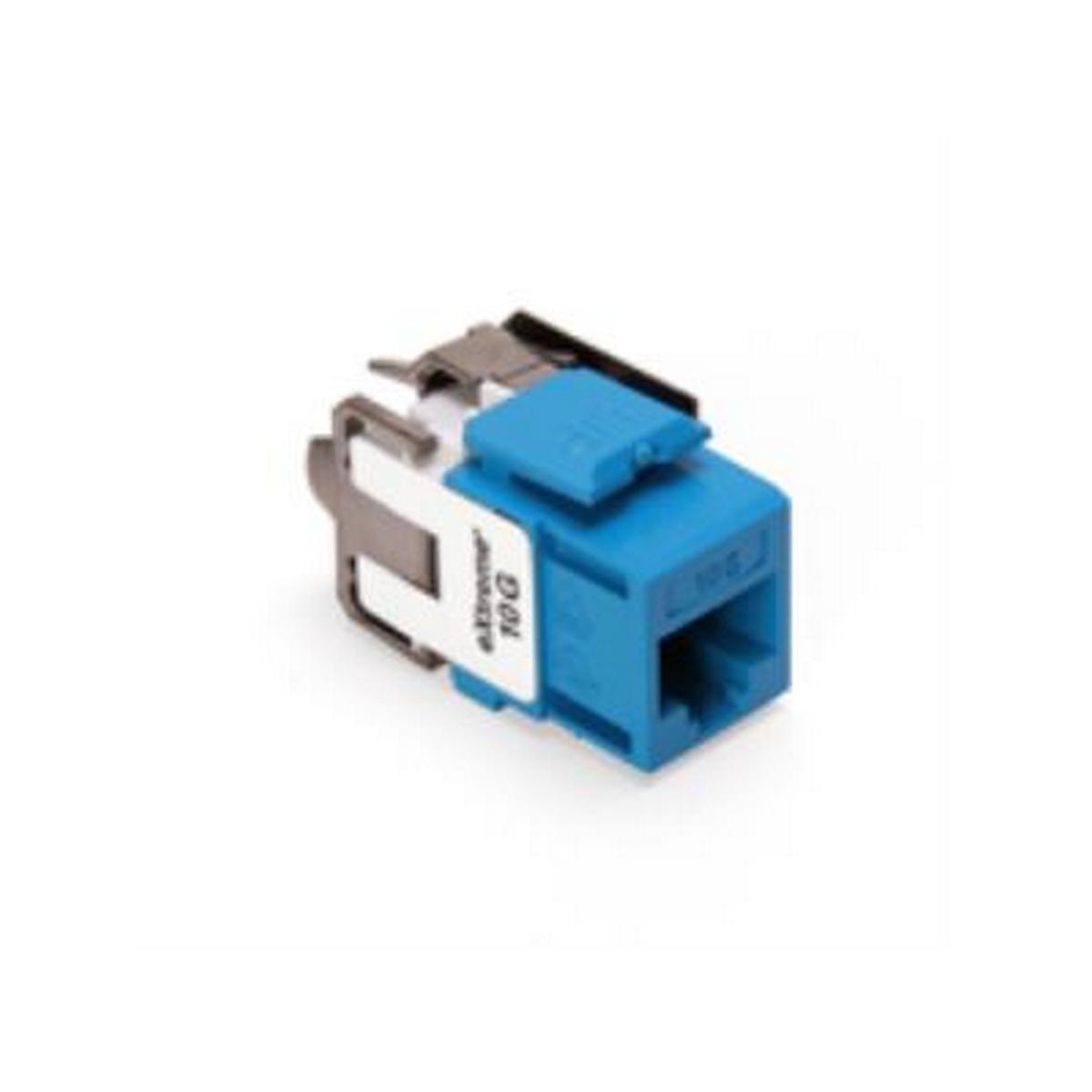 CAT 6A eXtreme 10G QuickPort Connector, blue