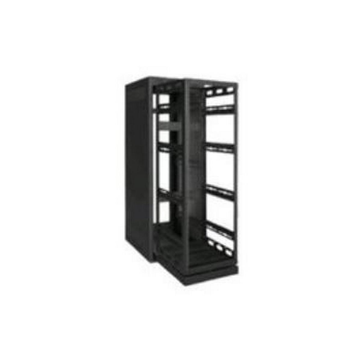 Rack-Rollout/Rotating System-24U, 32in Deep, Black