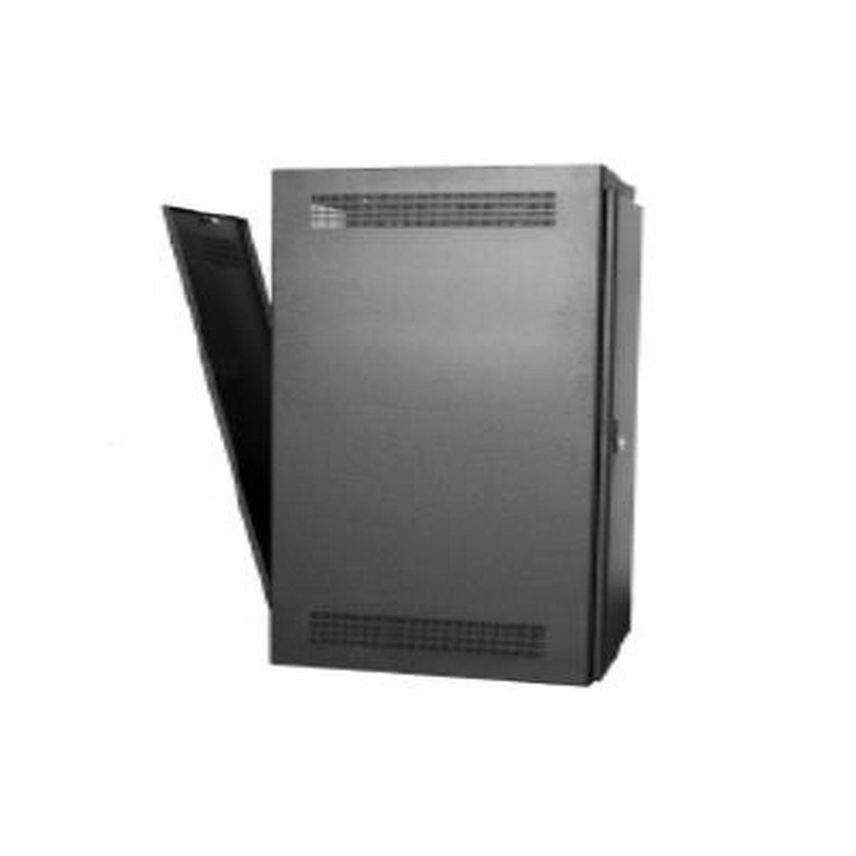 Rack-Rear Access Cover-44U, fits LHR Series, Locking/Vented, Blk