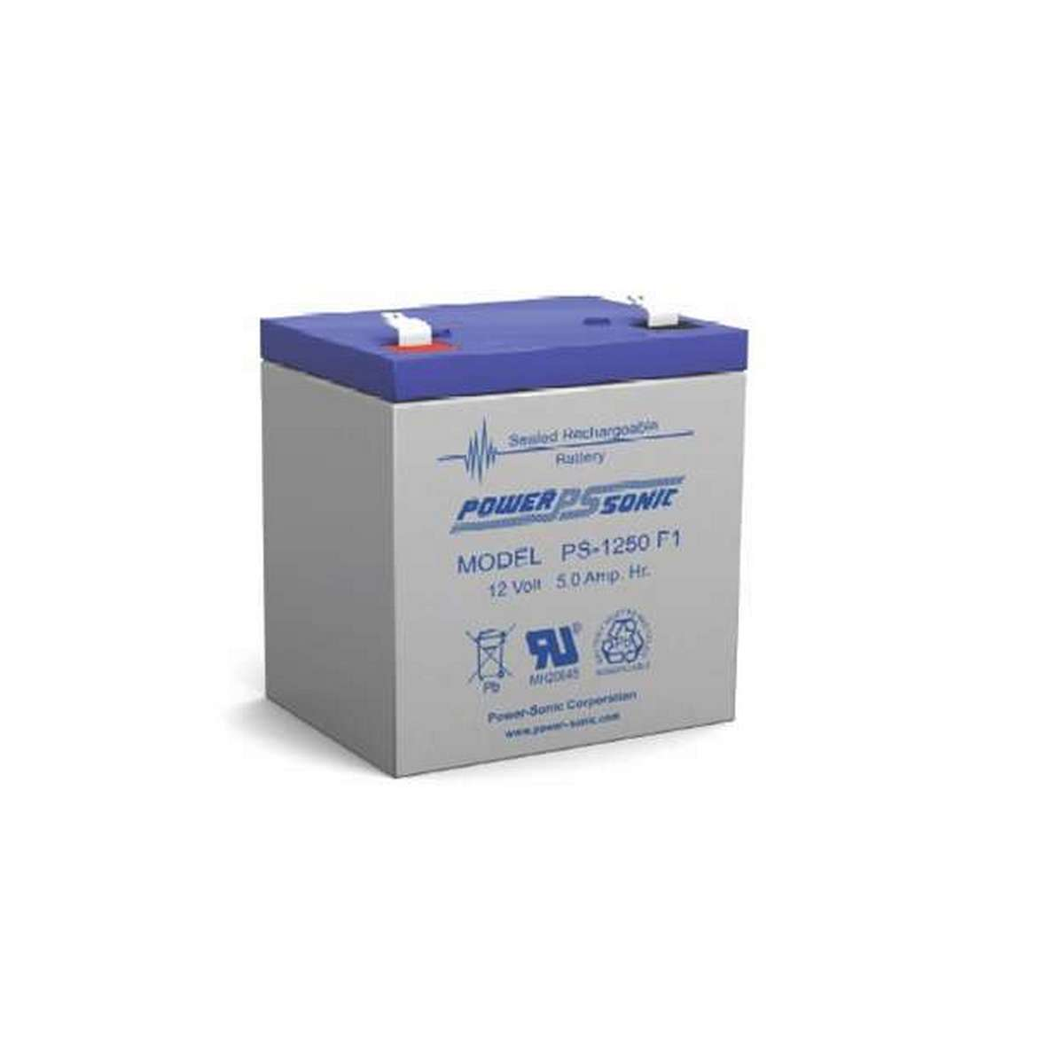 Powersonic PS1250  12 5AH Battery