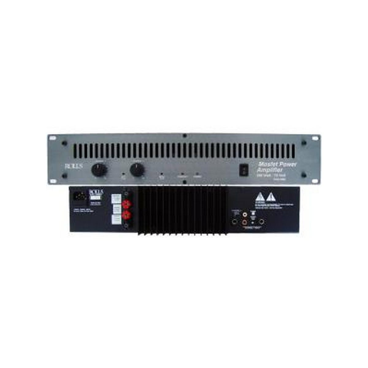 Rolls Ra 2100b 200 Watt/70 Volt Power Amp 2U