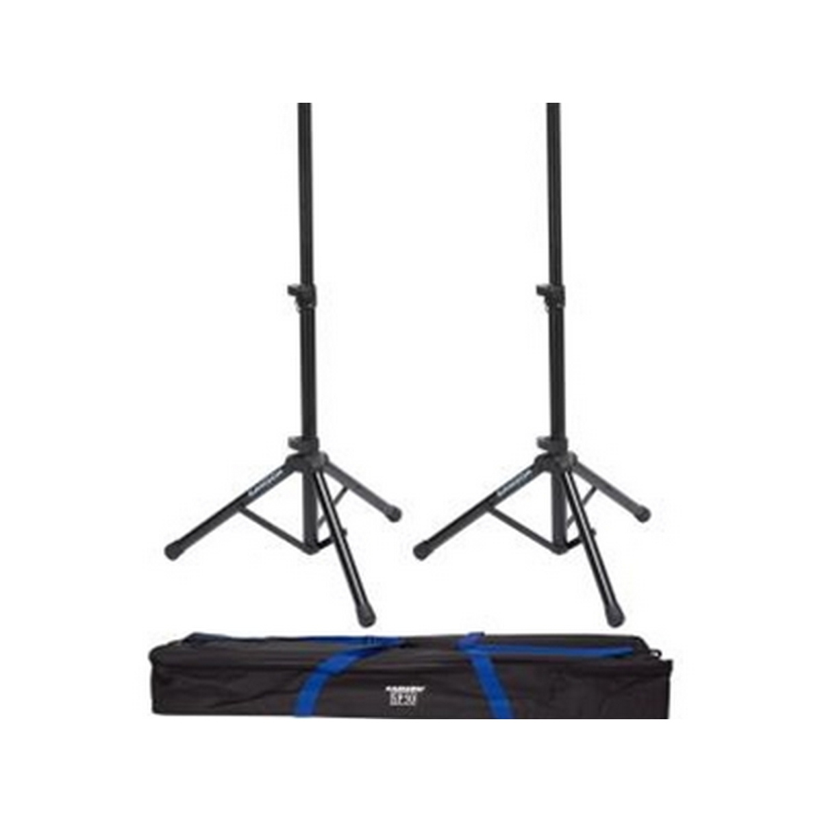Speaker Stand with locking latch (pair) in carry bag