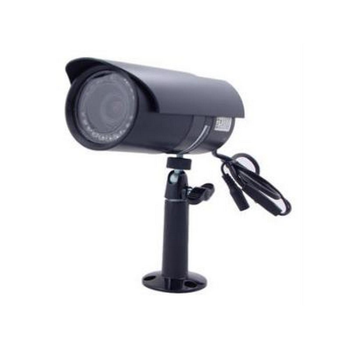 Speco VL66 Weatherproof Color Camera w/18 IR LED's, Dual Power Includes Mounting Bracket