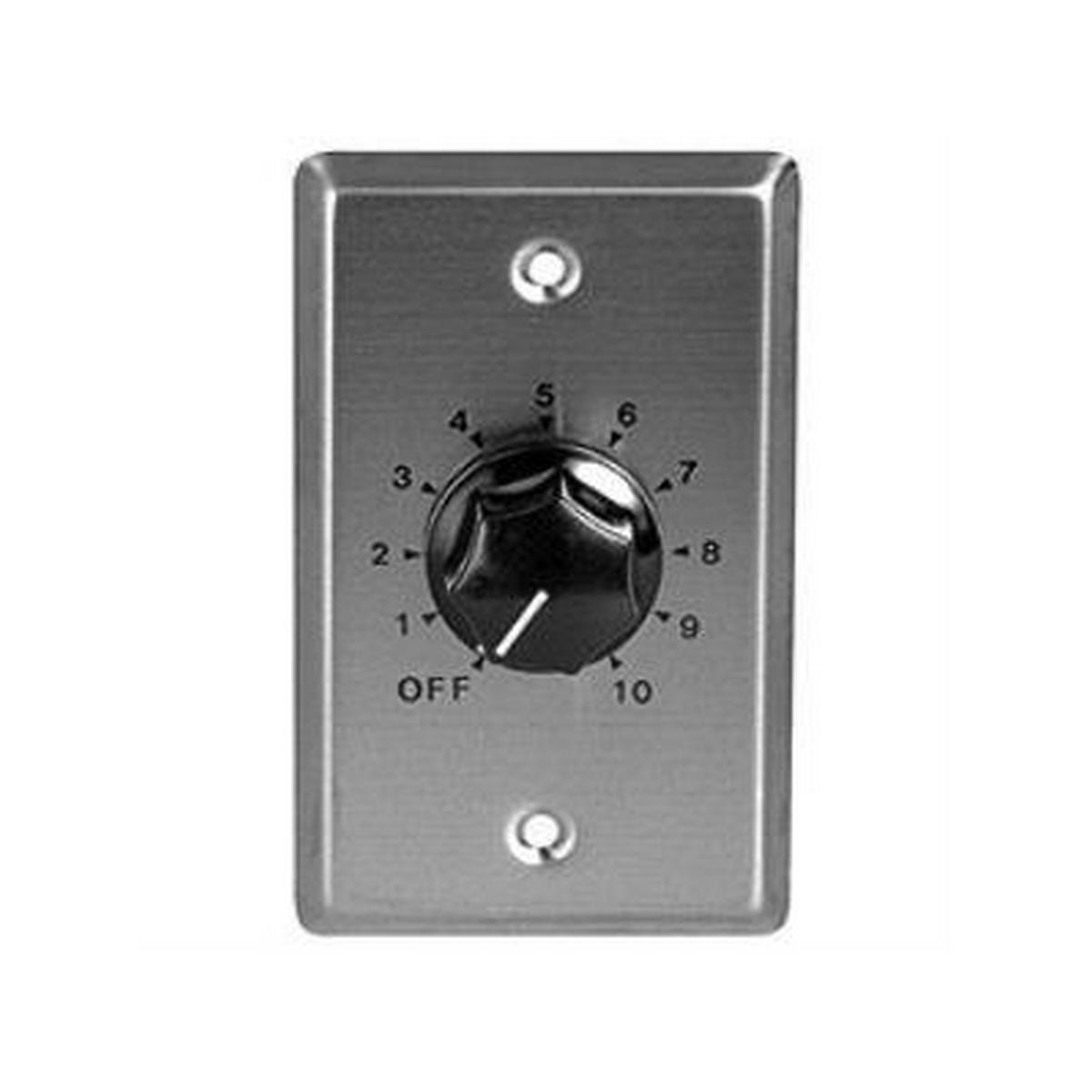 Speco WAT50D8 50W 8 Ohm Stereo Volume Control with Wallplate