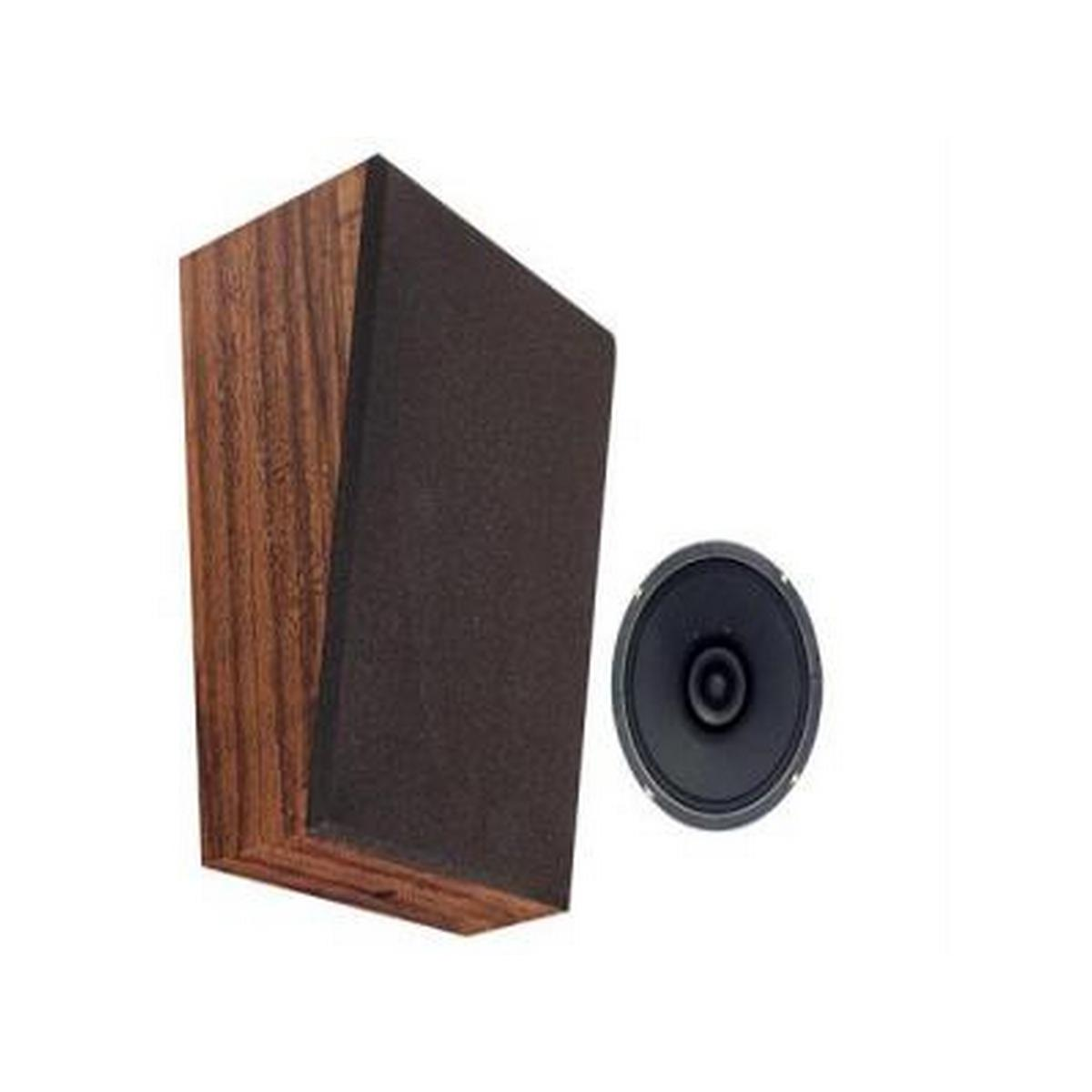 Speco WB8625 Wall Baffle w/ Speaker (6 oz Magnet) & 25V Transformer