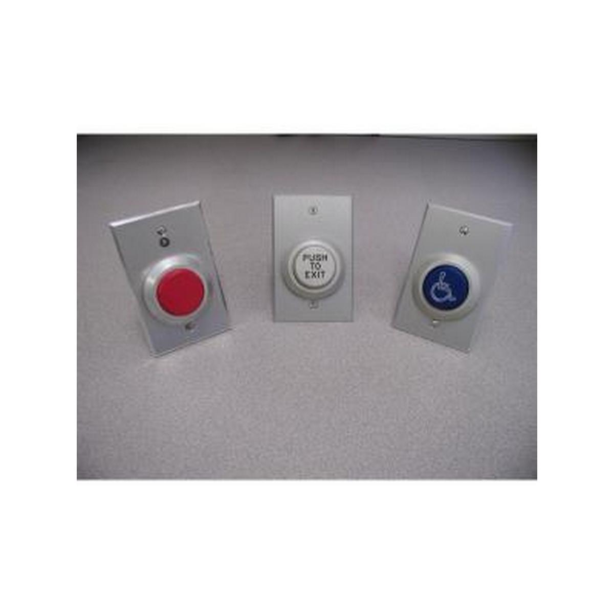 Dortronics W5287-AT  PTD Electronic timer 2-60 second adjustable, single gang switch plate