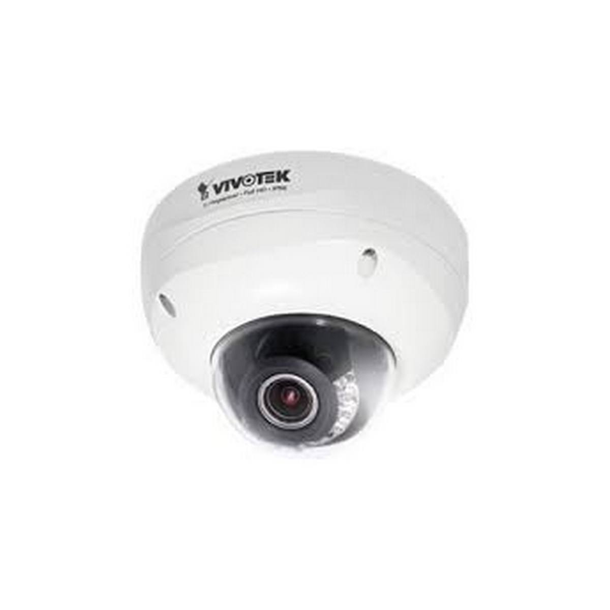 Vivotek FD8372  5MP Full HD Outdoor IP vandal dome, 3.6-9mm, 65' IR, Smart focus