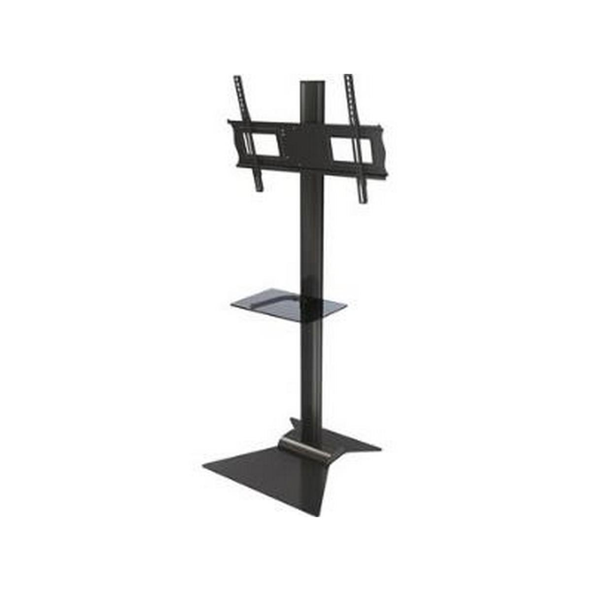 Crimson S631G Floor stand with metal shelf for 37