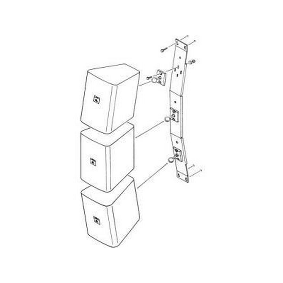 JBL MTC25V VERTICAL ARRAYING BRACKET C25 (HOLDS 3)