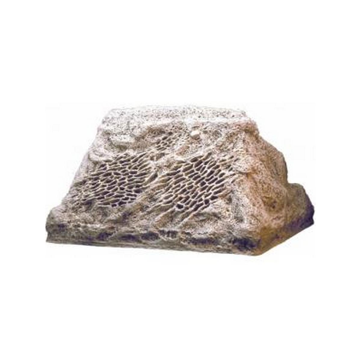 Lava-rock motif, 2-way speaker delivers 200 watt