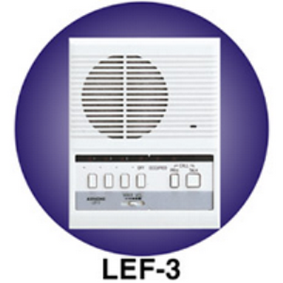 Aiphone LEF-3  3 Call surface mount master station