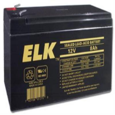 Elk 1280 12V 8Ah Lead acid battery