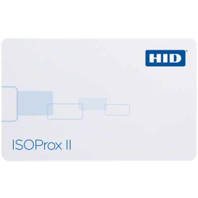 ISOProx II Gloss finish printable HID Card