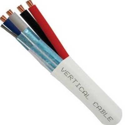 Vertical Control Cable 22/2 (shielded) + 16/2 stranded bare copper - CMR LUTRON QS COMPATIBLE CABLE