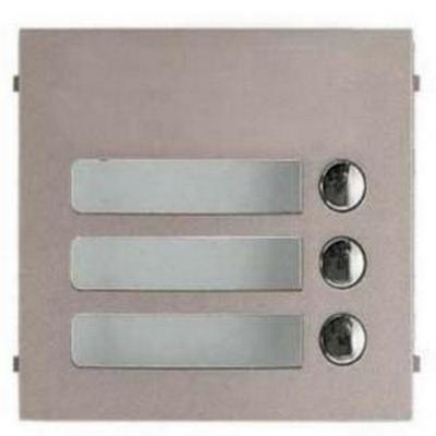 Aiphone GF-3P  3 Call button panel for GF-SW, GH-SW, GT-SW