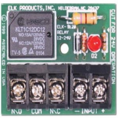 Elk ELK-912B Relay Module SPDT with Big Terminals, 12VDC