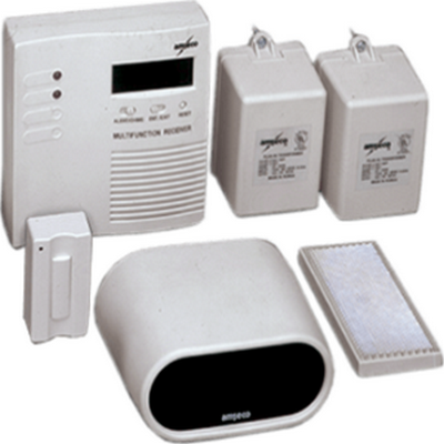 WIRELESS DOOR CHIME/ANNUNCIATOR WITH COUNTER