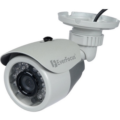 Everfocus EXZ330e 700 TVL 3-Axis High Res Outdoor Mini IR Bullet Camera, 4.3mm