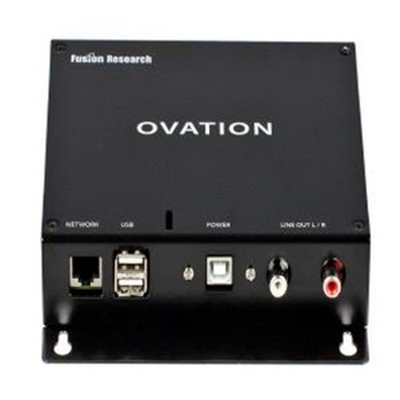 Ovation Players when added to an Ovation server can be placed in