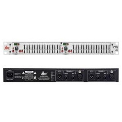 2 Series - Dual 15 Band Graphic Equalizer