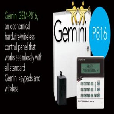 816 Panel with GEM-RP1CAE2 LCD Keypad