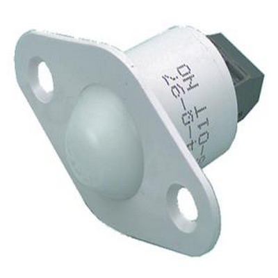 GRI-DS01T/WH  Short roller ball contact, 3/4