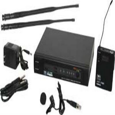 Galaxy Audio PSER/52LV PSE/52LV LAV SYSTEM: 16 channels; includes 1 PSER Receiver, 1 MBP52 transmitter, lav mic (AS-LV-U3BK), rack ears