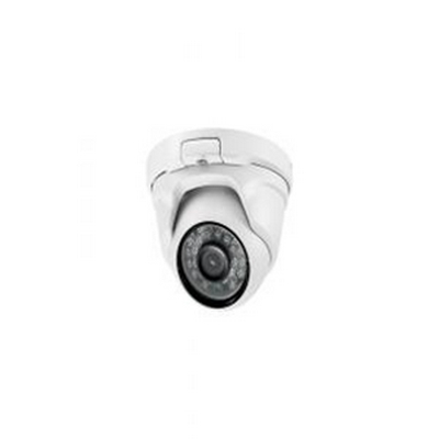 TVI HD 1080P Turret Camera, 3.6mm Lens, IR, White