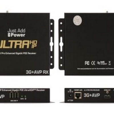 Just Add Po wer VBS-HDMI-518AVP 3G 4K AVPro Receiver