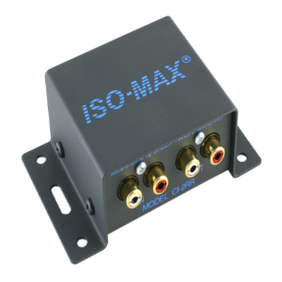 Jensen CI-2RR Line Input - Two channel isolator connects at the input of consumer level
