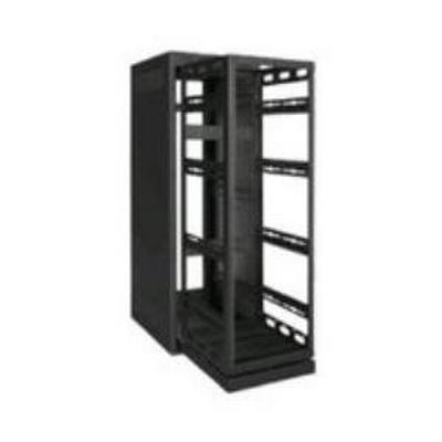 Rack-Rollout/Rotating System-44U, 42in Deep, Black
