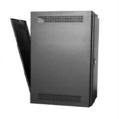 Rack-Rear Access Cover-35U, fits LHR Series, Locking/Vented, Blk