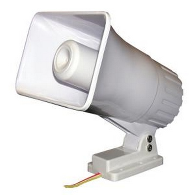Weather resistent dual tone siren 30w