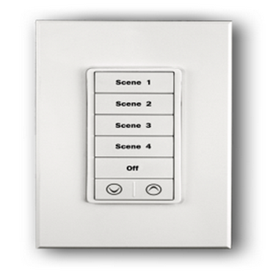 PulseWorx - Light Almond Keypad Color Change Kit, 7-button - 6 standard buttons and trim ring