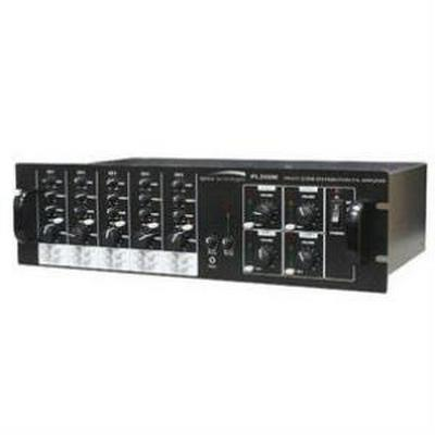 Speco PL200M 160 Watt 5x4 Multisource/Multizone PA Amplifier