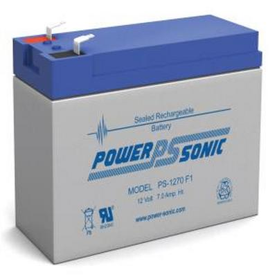 Powersonic PS-1270F1 12V 7AH Battery