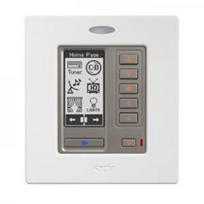 RTI RK2 Black 2 gang In Wall Universal Controller