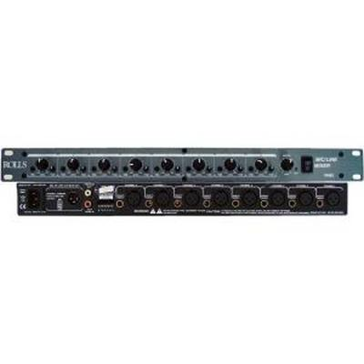 Rolla Audio RM82 8 CH Mic/Line Mixer